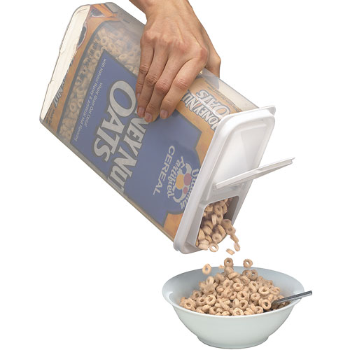 Bag-In Cereal Storage Container and Dispenser Image  sc 1 st  Organize-It & Bag-In Cereal Storage Container and Dispenser in Plastic Food ... Aboutintivar.Com