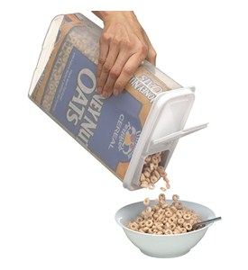 Bag-In Cereal Storage Container and Dispenser Image