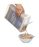 Bag-In Cereal Storage Container and Dispenser