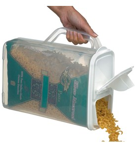 Easy Pour Food Storage Container and Dispenser Image