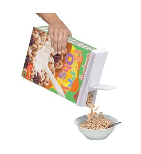 Buddeez Cereal Box Topper Lid Image