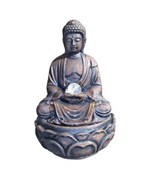 Buddha Fountain With Crystal - 12 Inch by O.R.E.