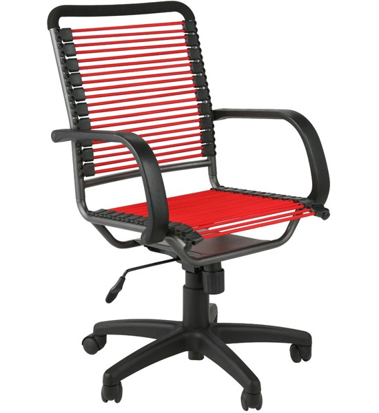 Bungee High Back Office Chair - Red and Black in Office Chairs