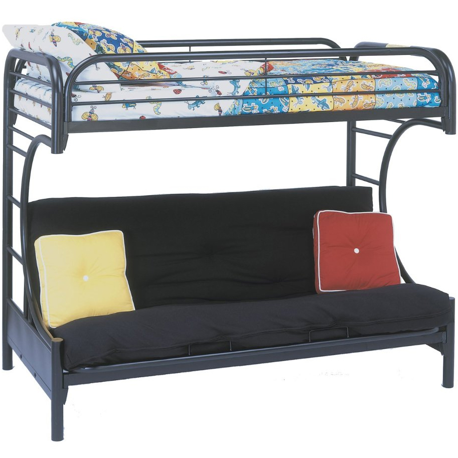 Bunk Bed With Futon Underneath In Beds Sofa Ikea