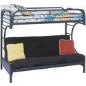 Bunk Bed with Futon Underneath