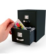 Business Card File Cabinet