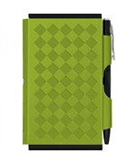 Business Card Holder - Notepad - Green