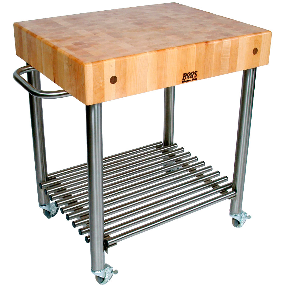 Light Wood Kitchen Island Without Wheels