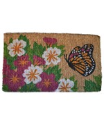 Butterfly Garden Coir Welcome Mat by Imports Decor
