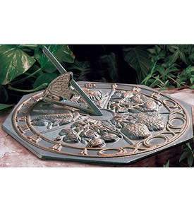 Sundial - Butterfly Image