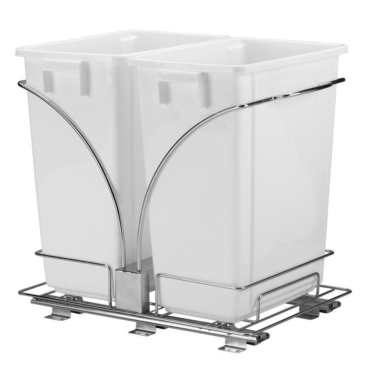 Double Pull-Out Trash Can Image
