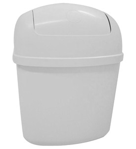 Cabinet Mount Trash Can in RV Accessories