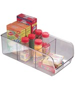Clear Plastic Cabinet Shelf Organizer