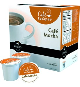 Cafe Escapes K-Cups - Cafe Mocha (Set of 16) Image