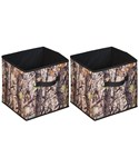 Camouflage Fabric Cubes