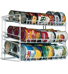 Canned Food Storage Rack Image