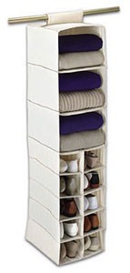 Canvas Sweater Shelves and Shoe Cubbies Image