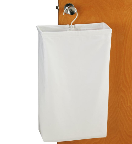 Canvas Door Knob H&er Image  sc 1 st  Organize-It & Canvas Door Knob Hamper in Laundry Bags pezcame.com