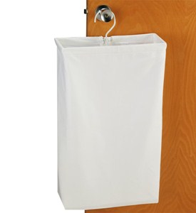 Canvas Door Knob Hamper Image