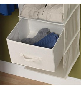 Canvas Drawers for Sweater Organizer (Set of 2) Image