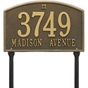 Cape Charles Standard Lawn Address Plaque