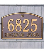 Cape Charles Address Plaque - Estate Two-Line