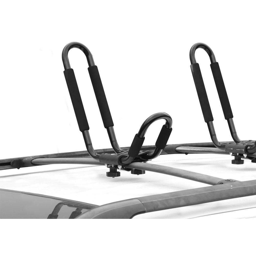 Car Top Kayak Carrier In Car Racks