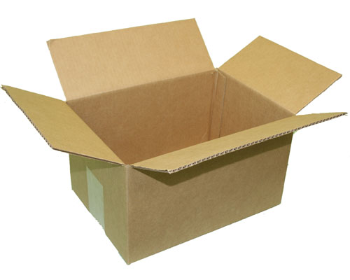 Cardboard Boxes for Moving and Shipping Image