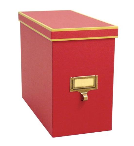 Cargo Atheneum File Storage Box Red Image