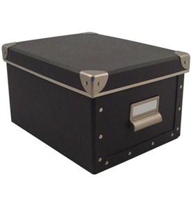 Cargo Media Box - Graphite Image