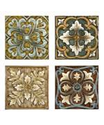 Casa Medallion Tiles - Set of 4