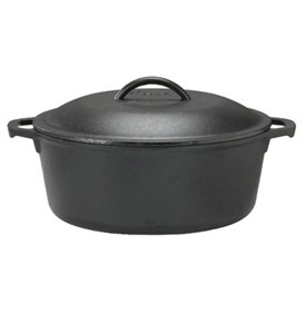 Cast Iron Dutch Oven - 5 Quart Image