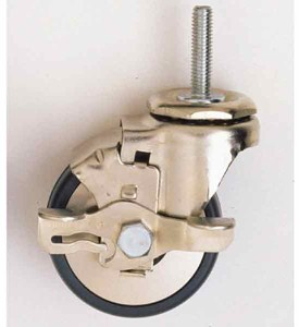 Metro Three Inch Locking Caster - Gray Image