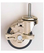Metro Three Inch Locking Caster - Gray