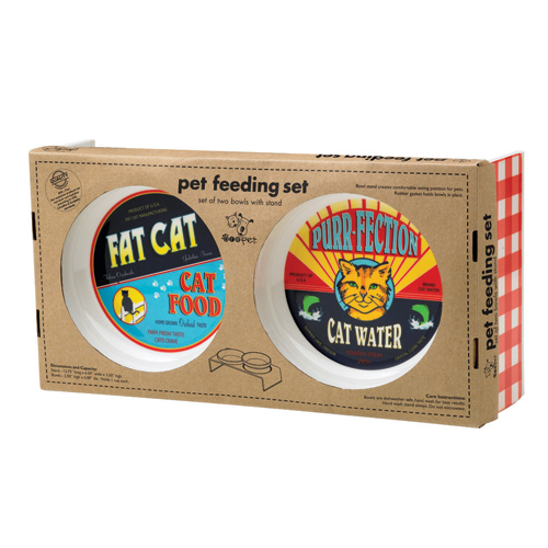 Cat Food Feeding Set Image