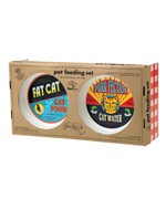 Cat Food Feeding Set