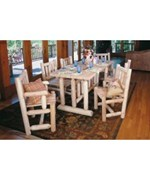 Cedar Dining Set - Each Piece Sold Separately by Rustic Natural Ceder