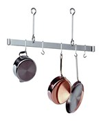 Sleek Ceiling Bar Hanging Pot Rack