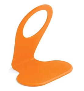 Cell Phone Holder and Charging Station - Orange Image