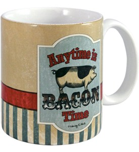 Ceramic Coffee Mug - Bacon Time Image