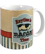 Ceramic Coffee Mug - Bacon Time