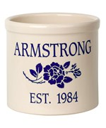 Ceramic Crock - Rose - Established