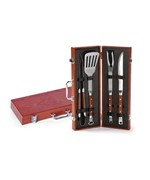 Chairman 4-Piece BBQ Tool Set by Spectrum Imports