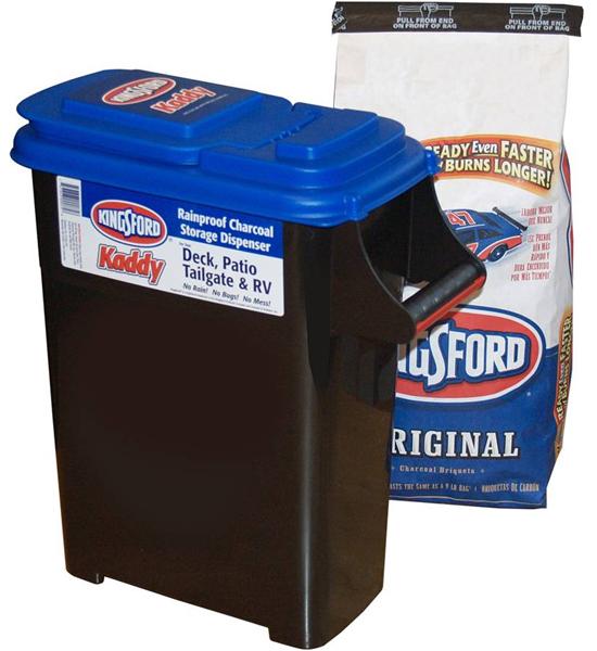 Charcoal Storage Bin Bbq Accessories