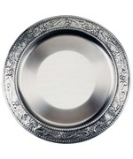 Charger Plate - Antique Pewter