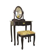 Cherry 3 Piece Vanity Set by ORE International