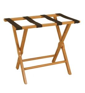 Folding Luggage Rack - Cherry Image