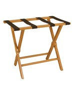 Folding Luggage Rack - Cherry