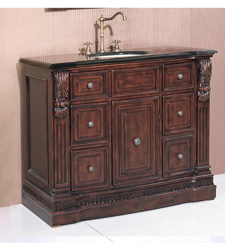 Cherry Vanity Cabinet Price: $439.99   $1,209.99