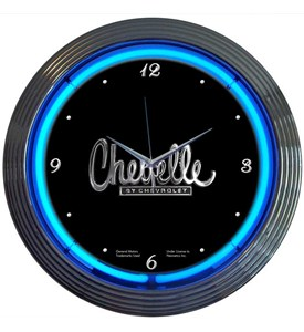 Chevelle Neon Clock by Neonetics Image